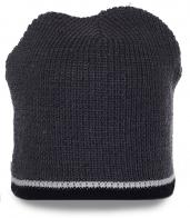 Безупречная комфортная мужская шапка для ценителей активного образа жизни на флисе