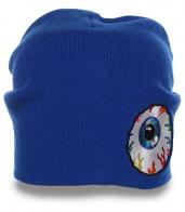 Безупречная женская шапка с глазом бренда Мишка трешевый аксессуар