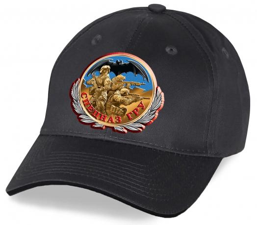 Безупречный вид Вам всегда обеспечен в хлопковой кепке с принтом юбилейной Медали Спецназ ГРУ с бойцами элитного подразделения. Купите кепку для крутых парней!