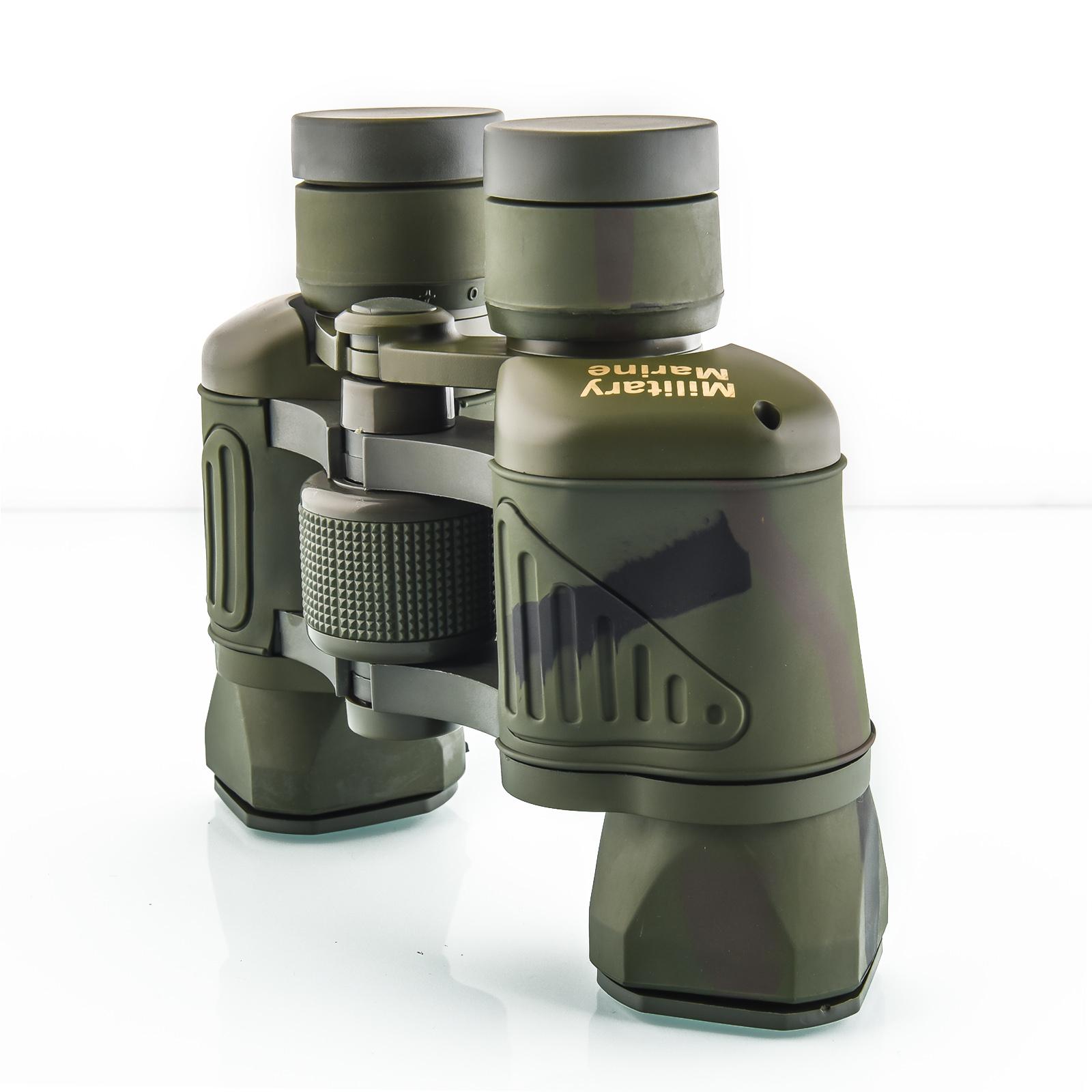 Армейский бинокль для ночного наблюдения Military Marine 50x50
