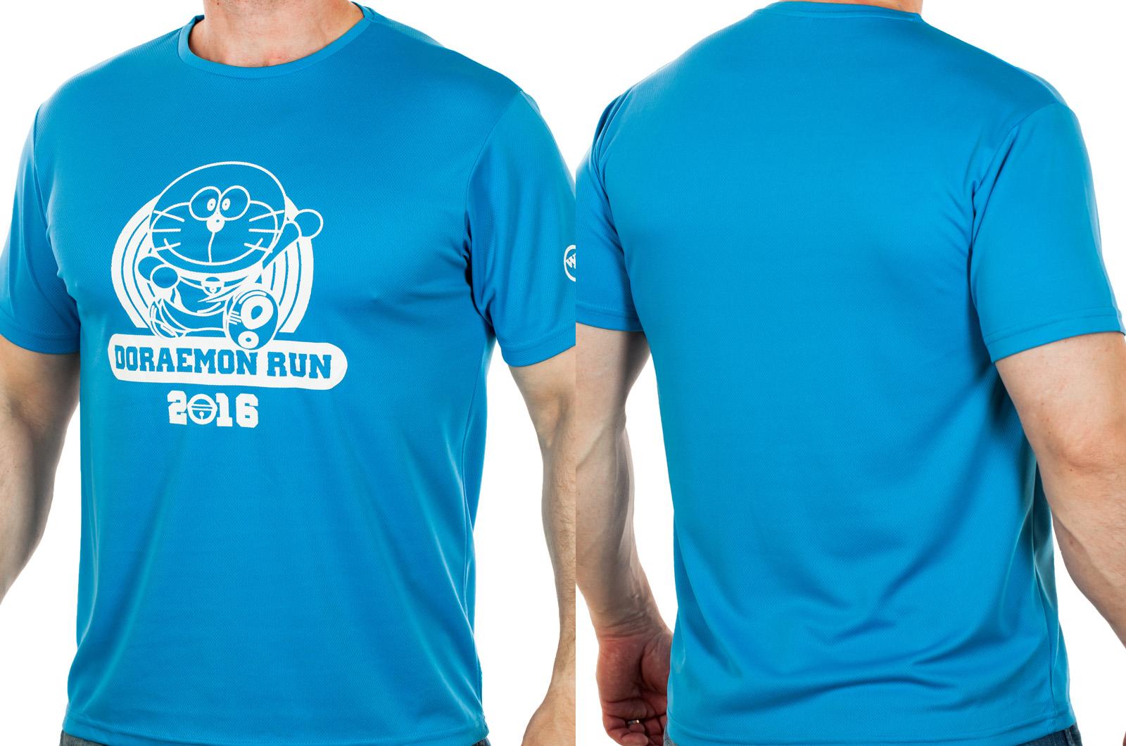 Бирюзовая футболка для мужчин от ТМ Wankee Group. Авторский геймерский дизайн