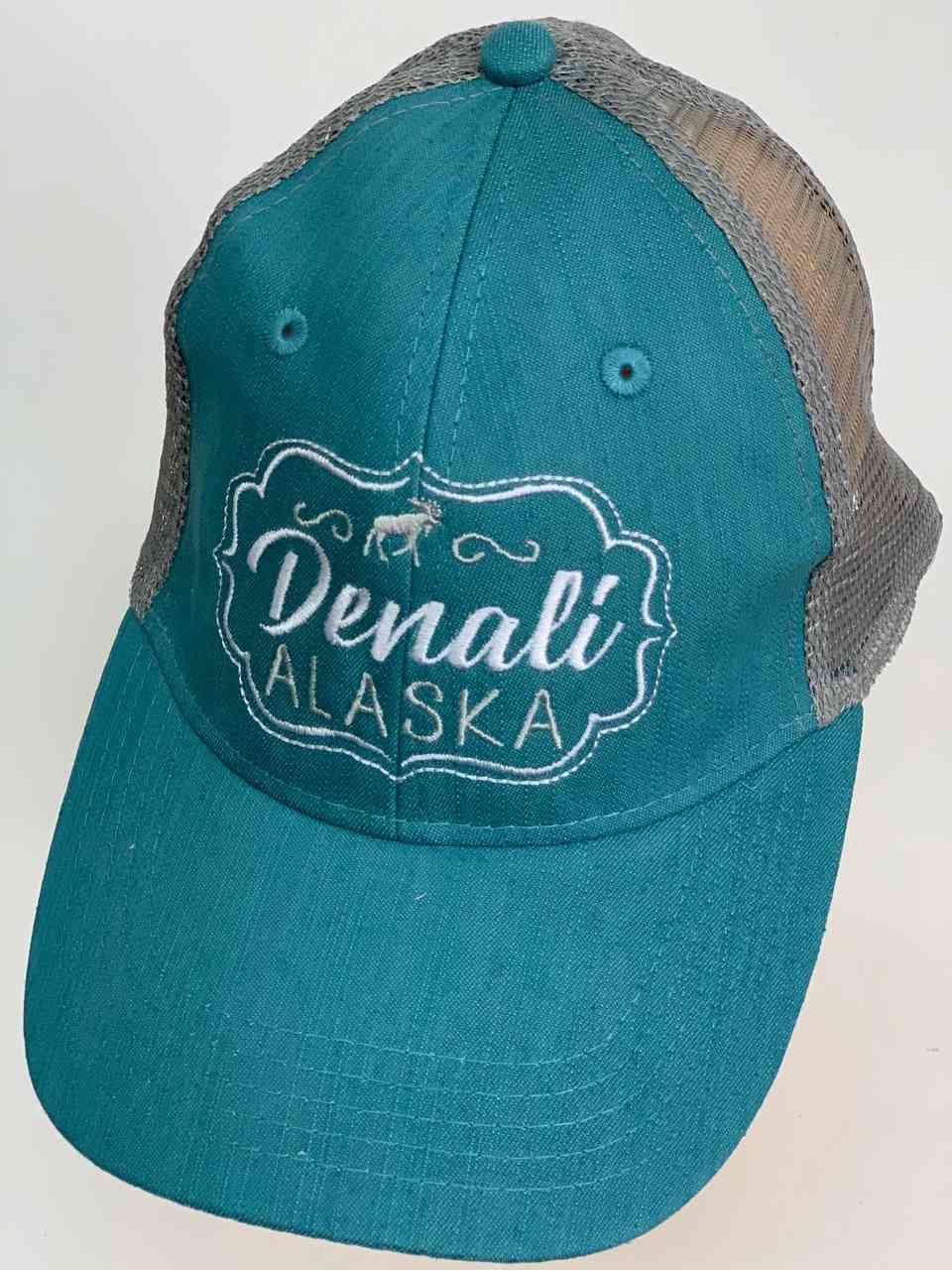 Бирюзовая бейсболка Denali ALASKA