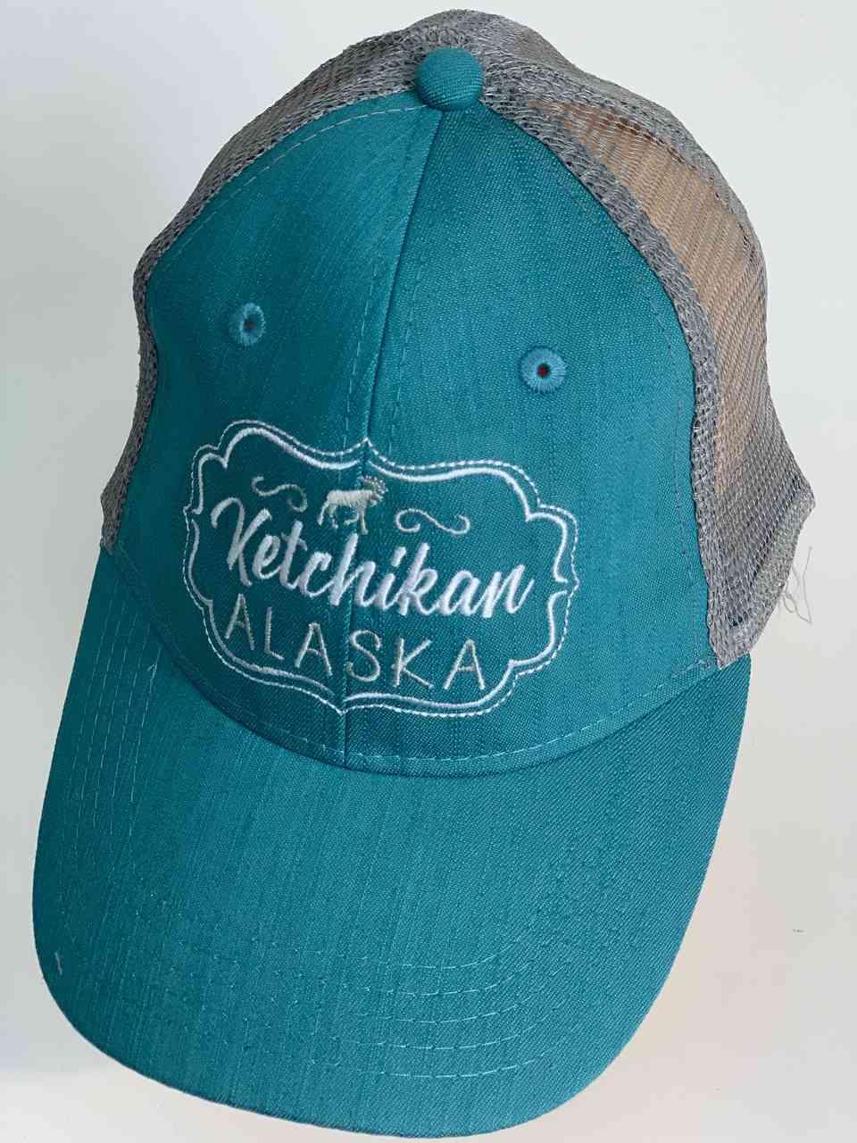 Бирюзовая бейсболка KETCHIKAN Alaska
