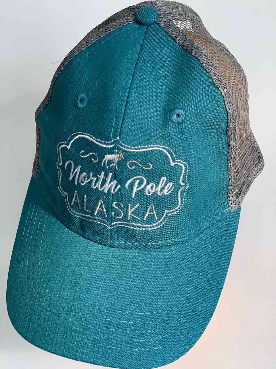 Бирюзовая бейсболка North Pole Alaska