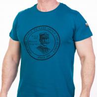 Бирюзовая футболка  мужская (National Geographic Society, США)