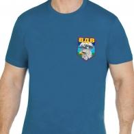 Бирюзовая футболка с эмблемой ВДВ