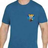 """Бирюзовая футболка """"ВДВ"""" с головой орла"""