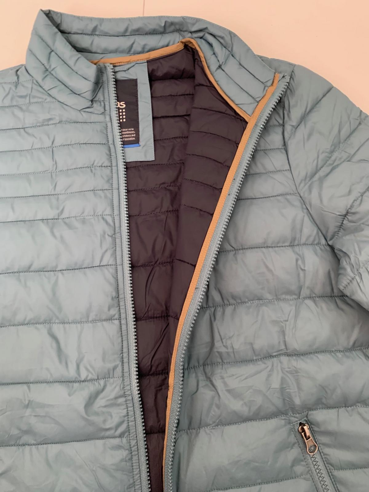 Бирюзовая мужская куртка от бренда TBS