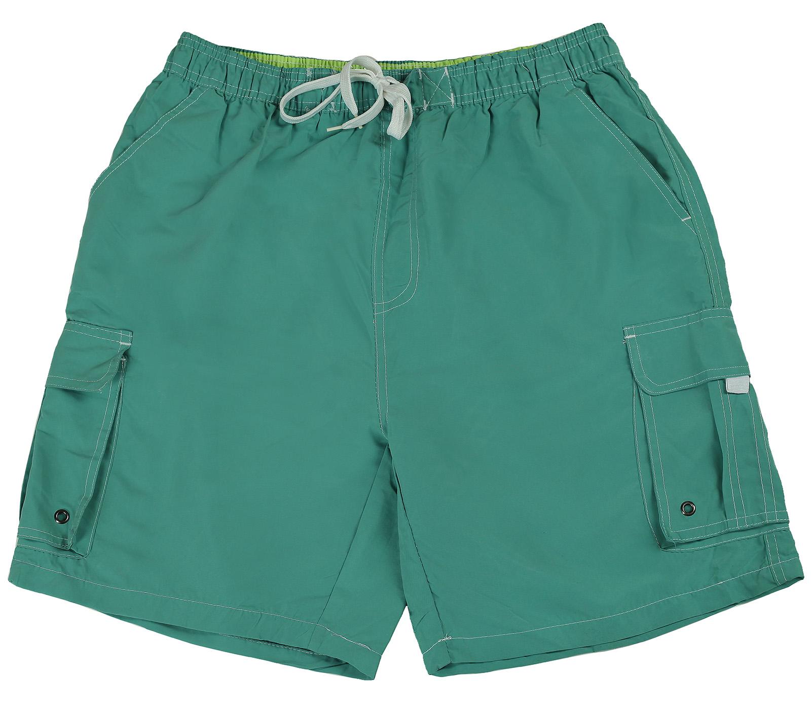 Бирюзовые мужские шорты Tom Franks