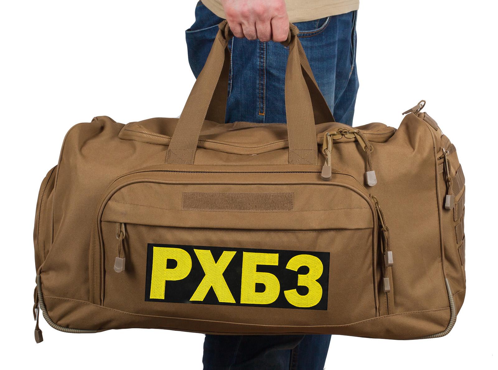 Купить большую дорожную сумку РХБЗ 08032B Coyote оптом или в розницу