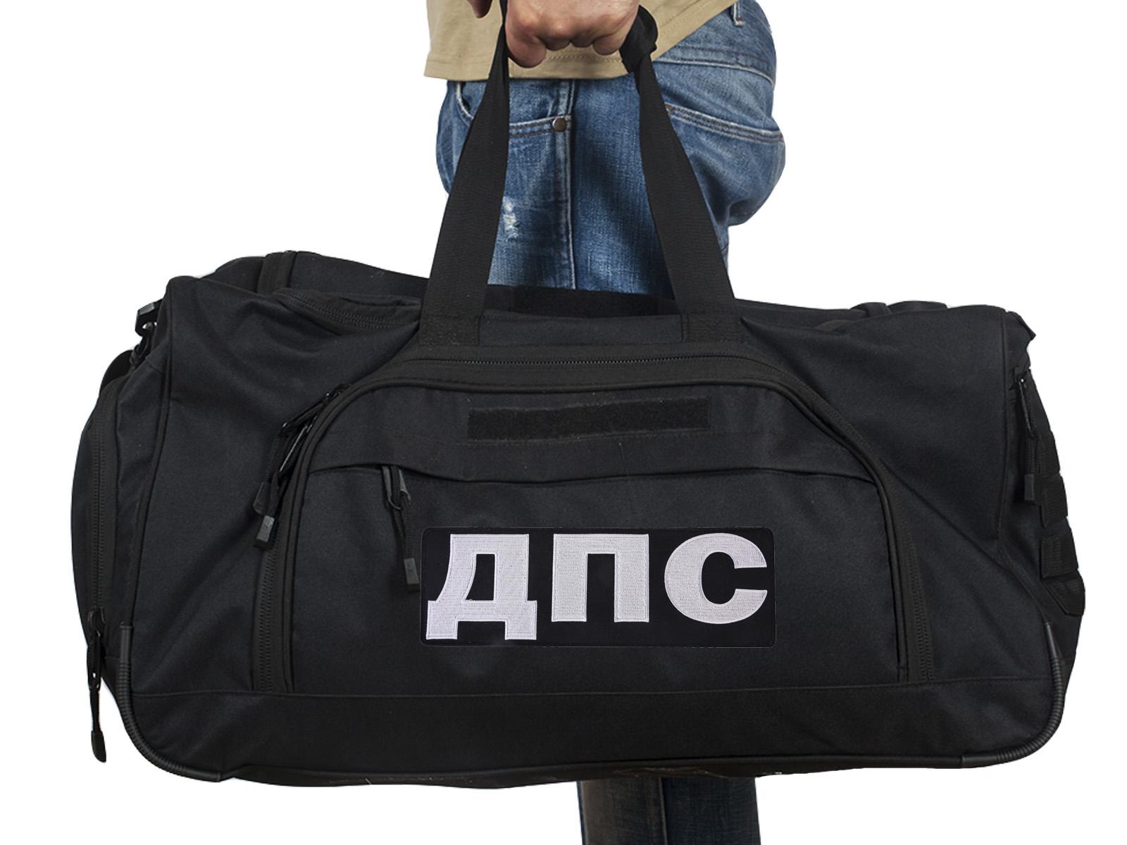 Купить большую тревожную сумку 08032B Black ДПС по лучшей цене