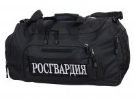 Большая военная сумка 08032B Black Росгвардия