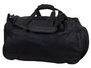 Большая военная сумка 08032B Black с нашивкой ФСО