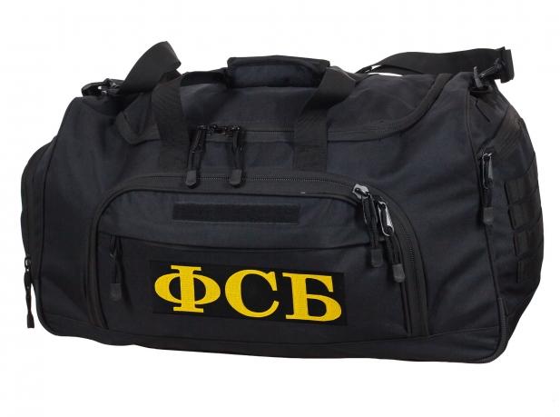 Большая военная сумка ФСБ 08032B Black