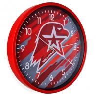 Большие круглые настенные часы Юнармия