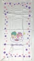 Большое махровое полотенце с ангелочками и звездами