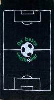 Большое полотенце с футбольной символикой