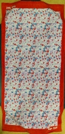 Большое полотенце с мелкими цветочками