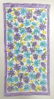 Большое полотенце с милыми цветами