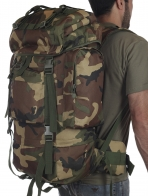 Большой армейский рюкзак (70 литров, Woodland)