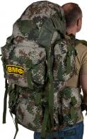 Большой армейский рюкзак с нашивкой ВМФ - купить в подарок