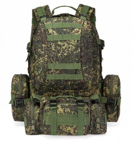 Большой армейский рюкзак цвета хаки недорого