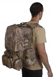 Большой армейский тактический рюкзак камуфляжа Kryptek Nomad только в Военпро