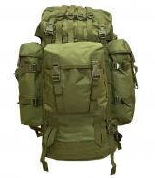 Большой экспедиционный рюкзак (100 литров, олива)