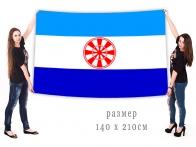 Большой флаг Эвенкийского муниципального района