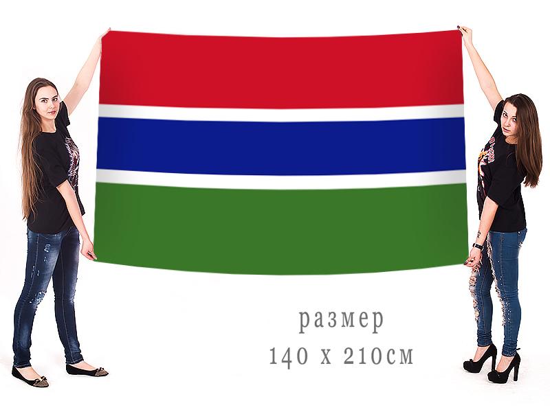 Большой флаг Гамбии