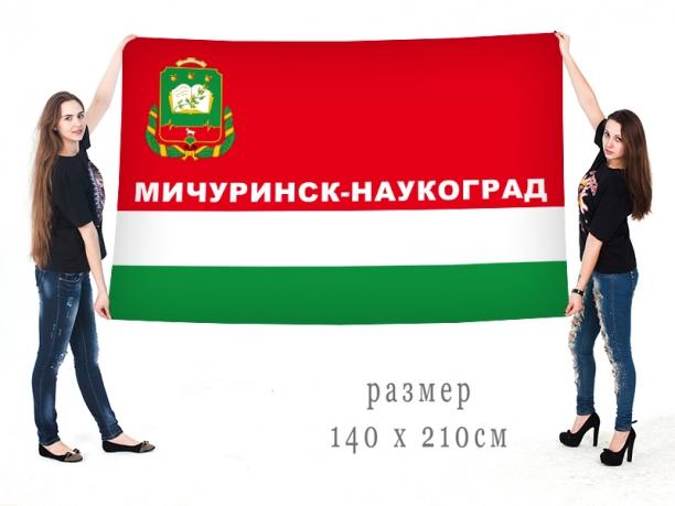 Большой флаг города Мичуринска