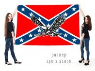 Большой флаг Конфедерации с орлом
