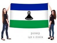 Большой флаг Королевства Лесото