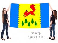 Большой флаг муниципального образования Пировский район