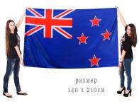 Большой флаг Новой Зеландии