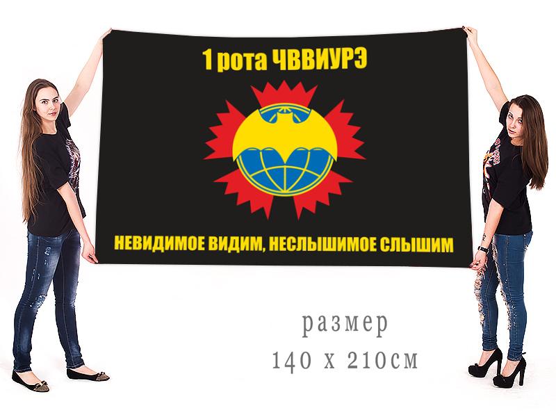 Большой флаг ОСНАЗа ГРУ (1 рота ЧВВИУРЭ)