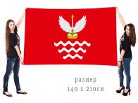 Большой флаг посёлка Ашукино