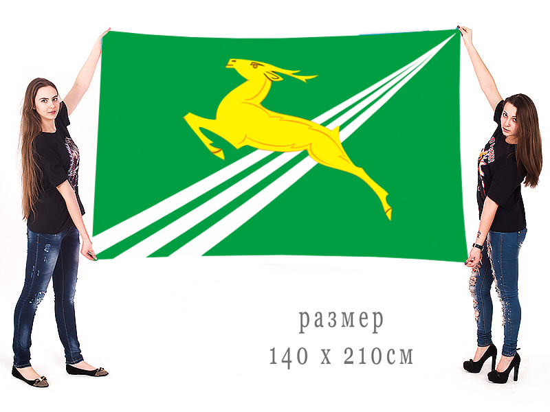 Большой флаг сельского поселения Кузнецовское