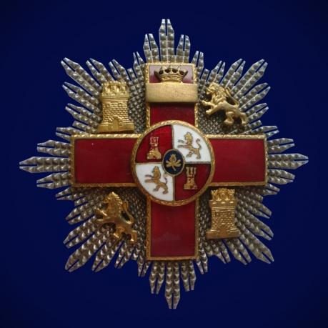 Большой Крест Военных заслуг (Испания)