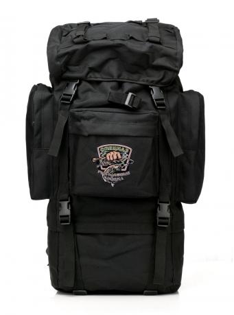 Большой многодневный рюкзак с рыбацкой нашивкой