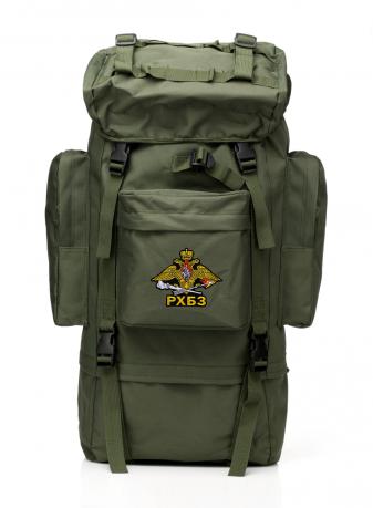 Большой надежный рюкзак с эмблемой РХБЗ