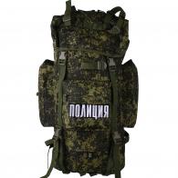 Большой походный рюкзак с нашивкой Полиция