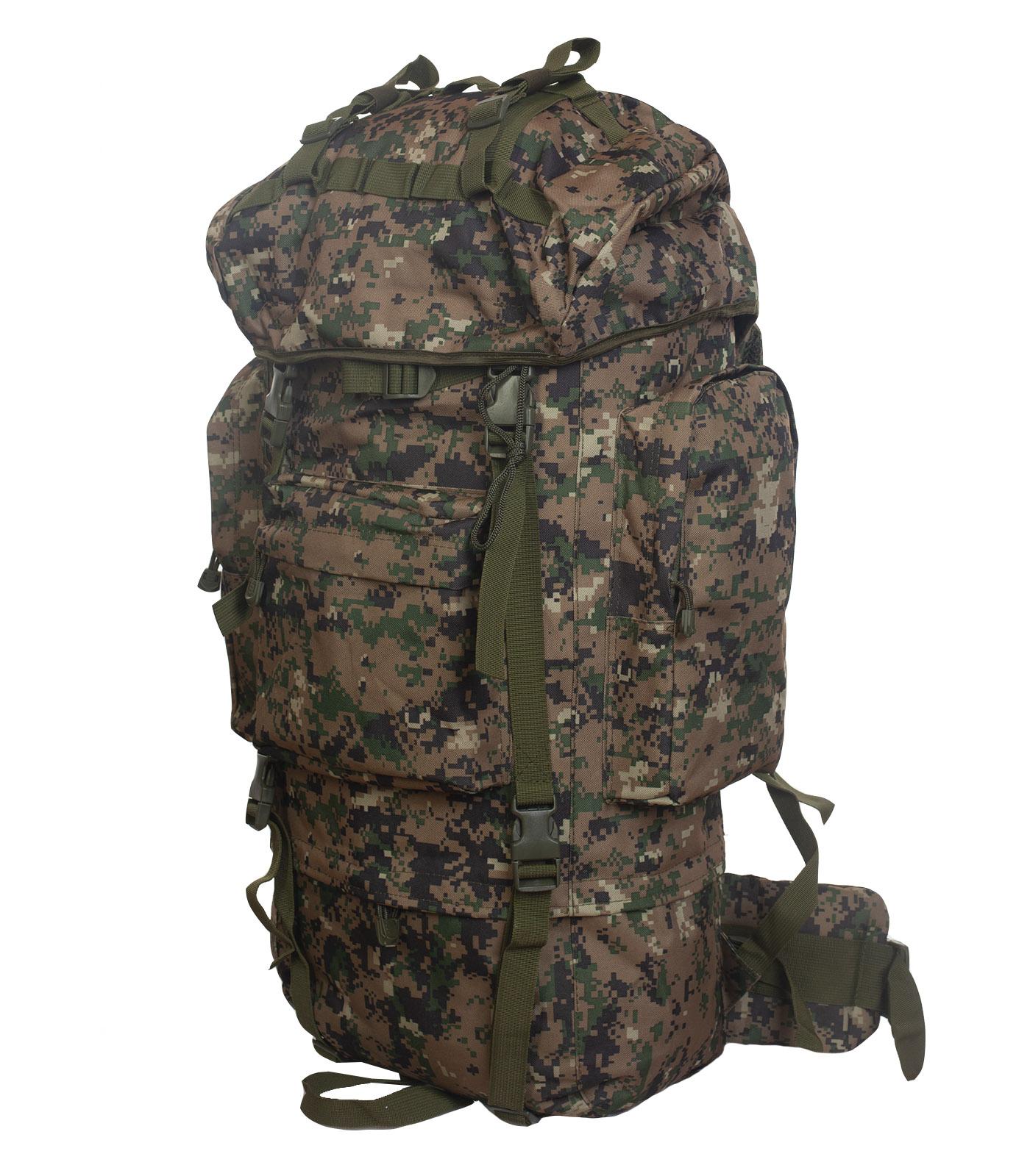 Большой рюкзак для мужчин камуфляжа Digital Woodland