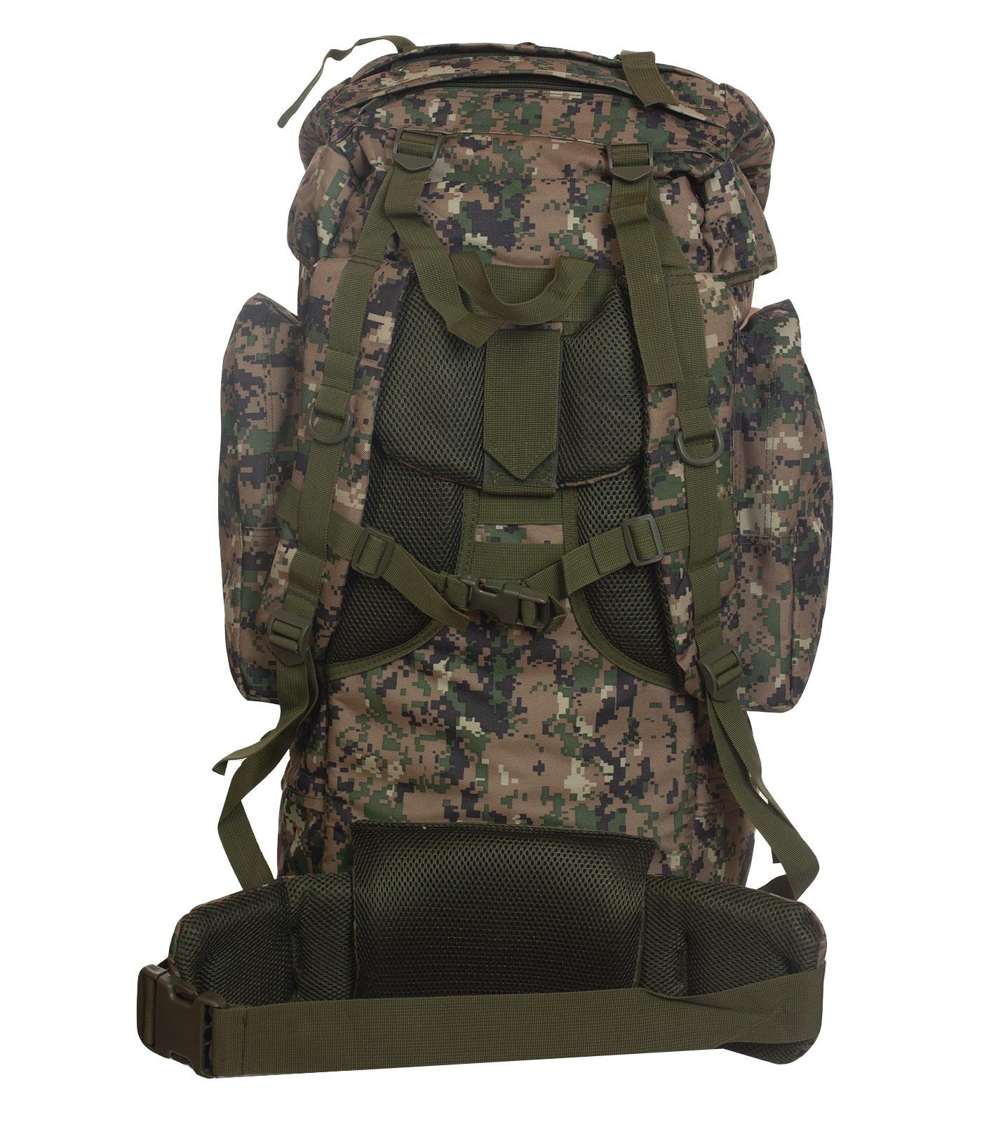Большой рюкзак для мужчин камуфляжа Digital Woodland с доставкой по России