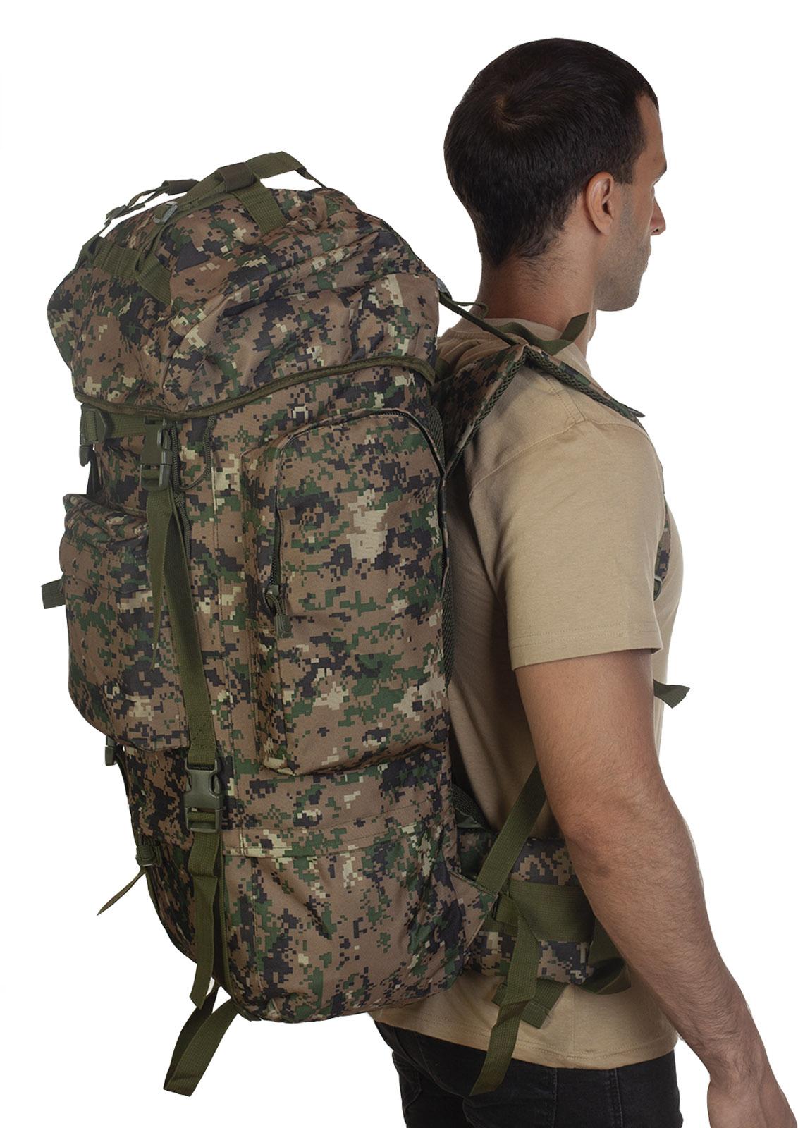 Большой рюкзак для мужчин камуфляжа Digital Woodland - купить онлайн