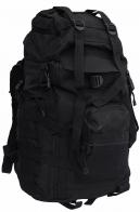 Большой тактический рюкзак (50 литров, черный)
