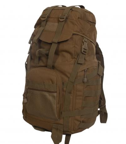 Большой тактический рюкзак разведки (50 литров, койот)