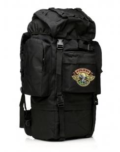 Большой охотничий рюкзак с нашивкой Ни Пуха ни Пера - купить по низкой цене