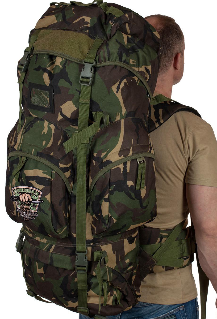Большой тактический рюкзак с нашивкой Охотничий спецназ