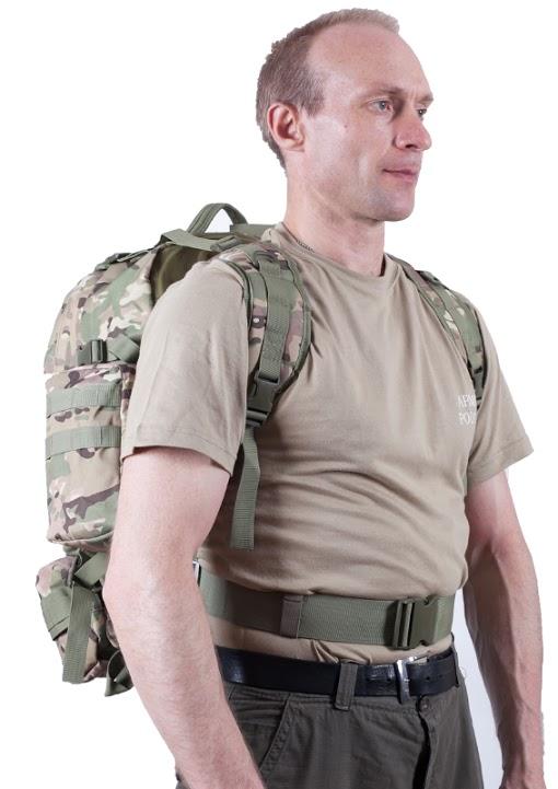 Большой трехдневный рюкзак с охотничьей нашивкой купить в подарок